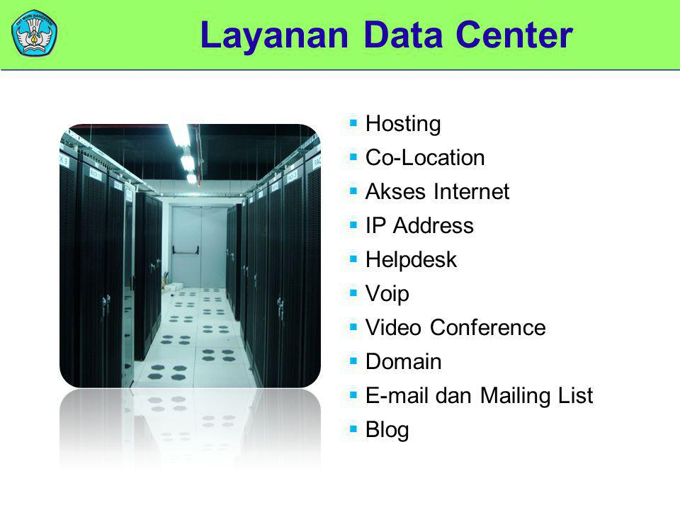 Layanan Data Center Hosting Co-Location Akses Internet IP Address