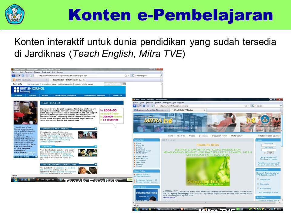 Konten e-Pembelajaran