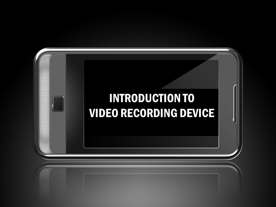 VIDEO RECORDING DEVICE