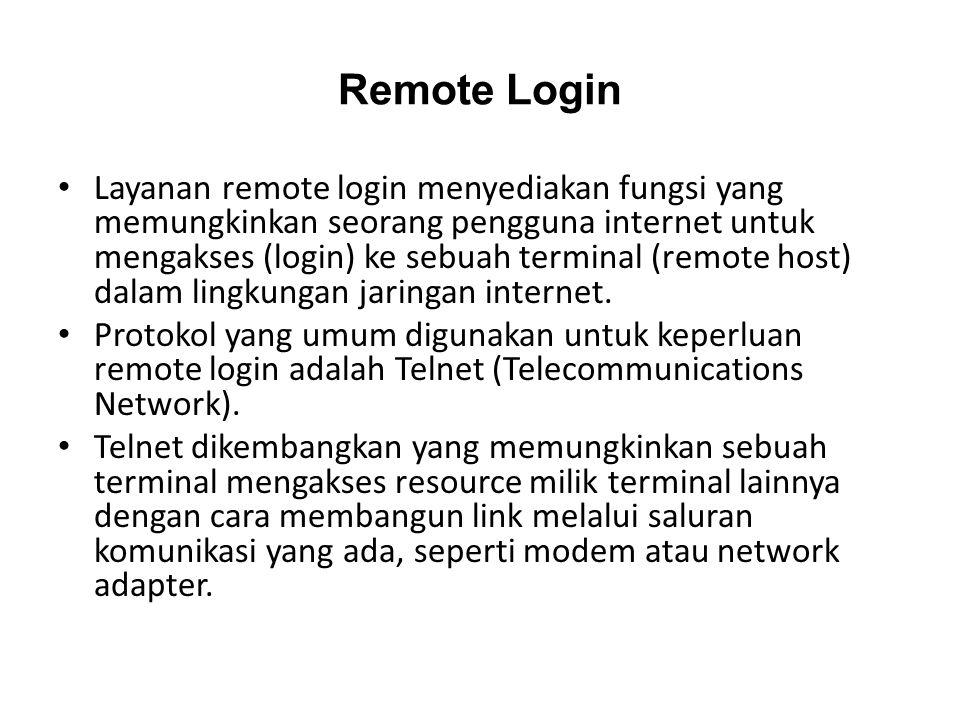 Remote Login