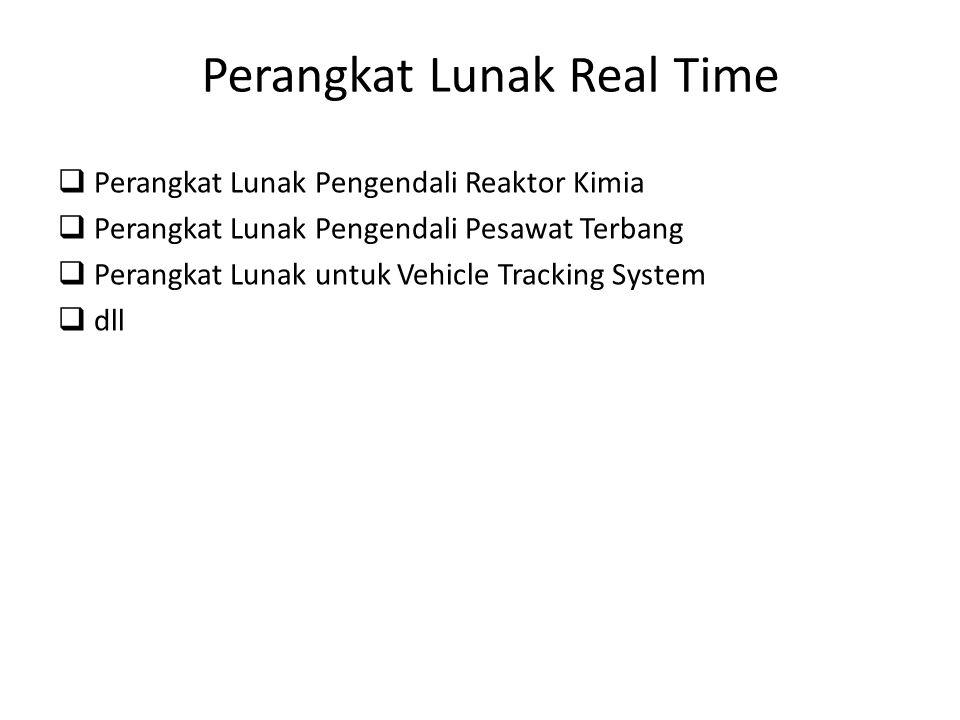 Perangkat Lunak Real Time