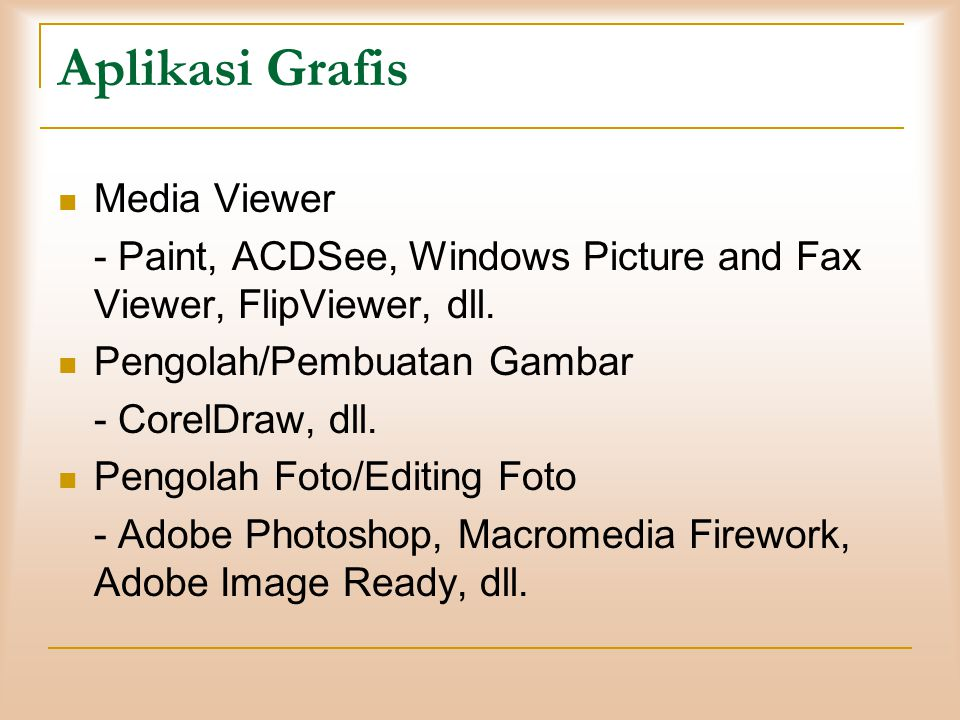 Aplikasi Grafis Media Viewer
