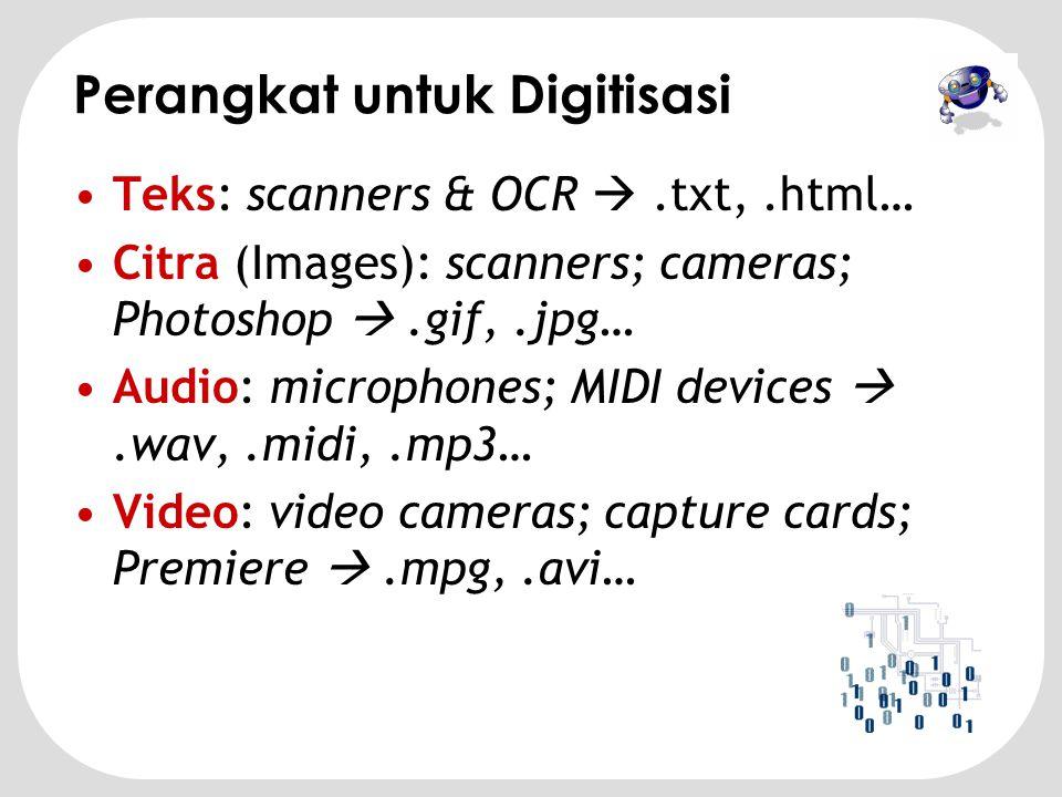 Perangkat untuk Digitisasi