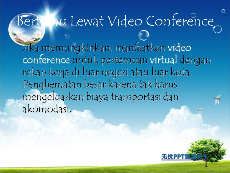 Bertemu Lewat Video Conference