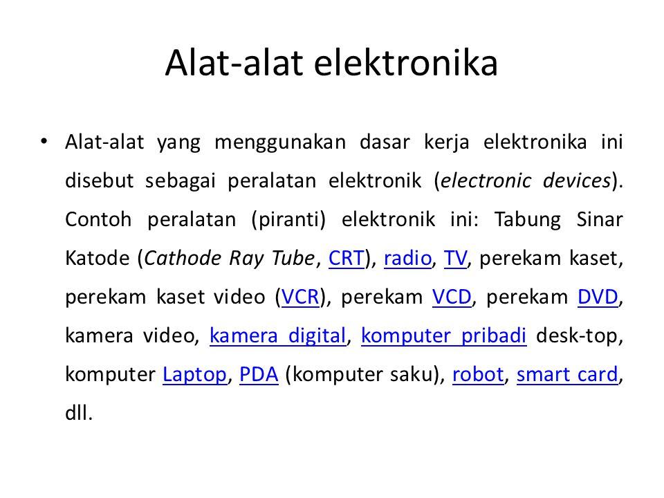 Alat-alat elektronika