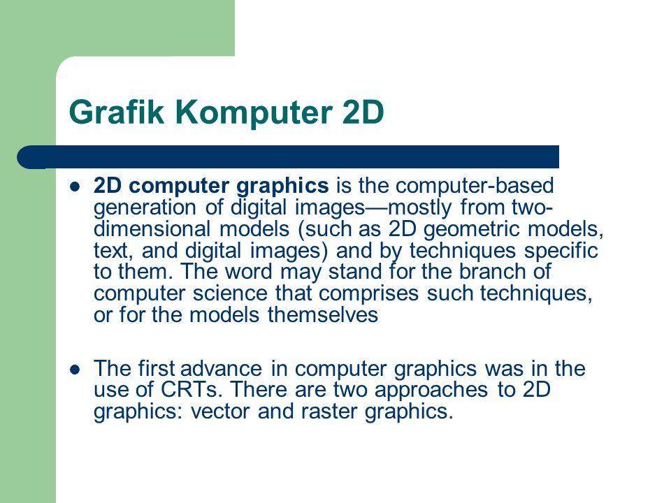 Grafik Komputer 2D