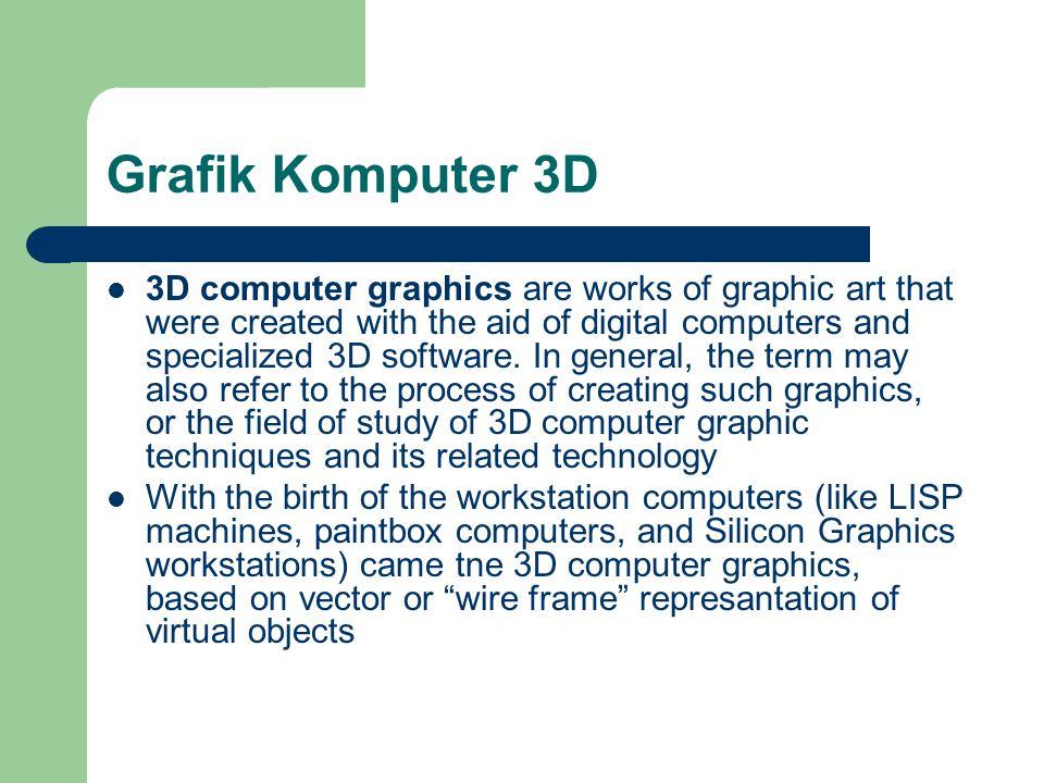 Grafik Komputer 3D