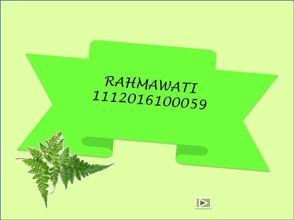 RAHMAWATI 1112016100059