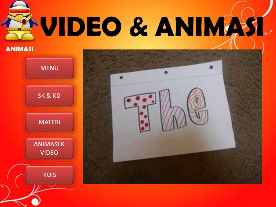 VIDEO & ANIMASI ANIMASI