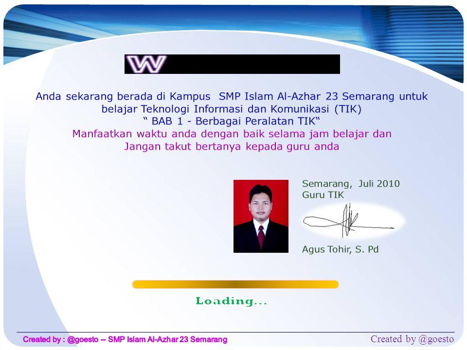 Anda sekarang berada di Kampus SMP Islam Al-Azhar 23 Semarang untuk belajar Teknologi Informasi dan Komunikasi (TIK)