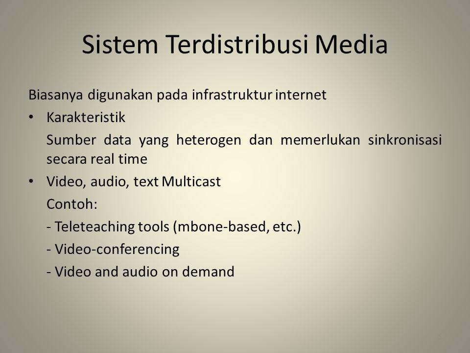 Sistem Terdistribusi Media
