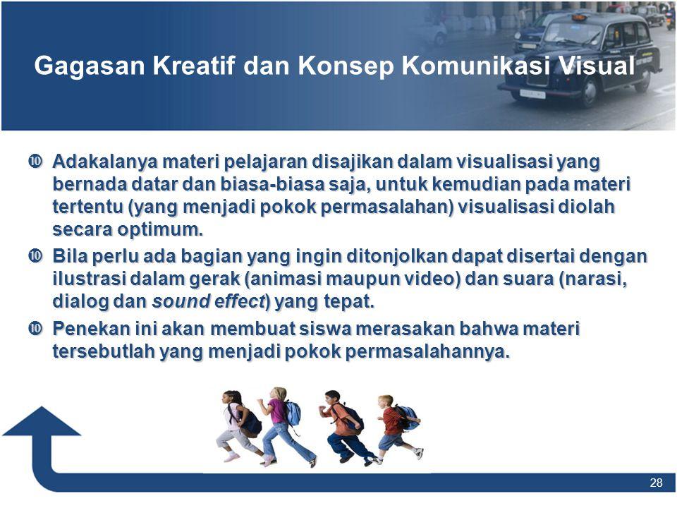 Gagasan Kreatif dan Konsep Komunikasi Visual