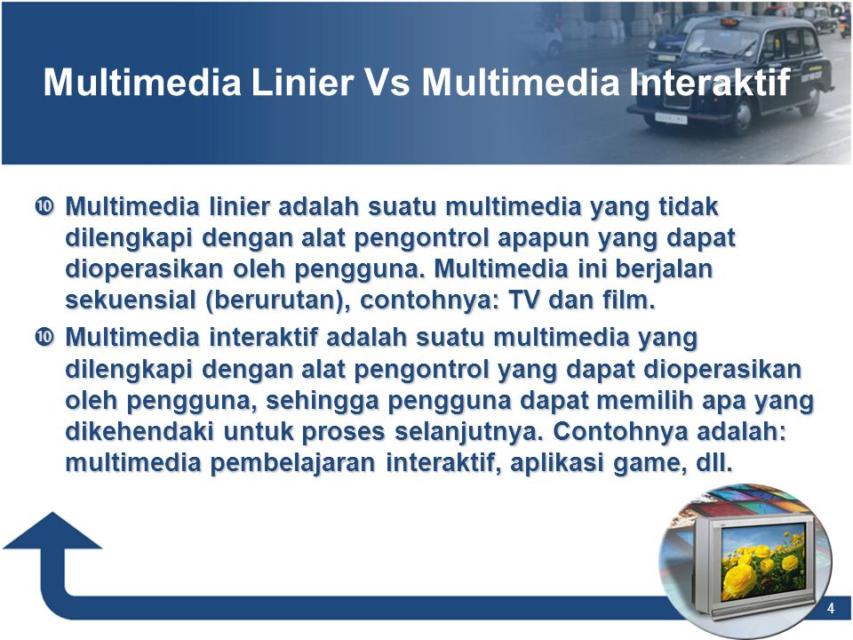 Multimedia Linier Vs Multimedia Interaktif