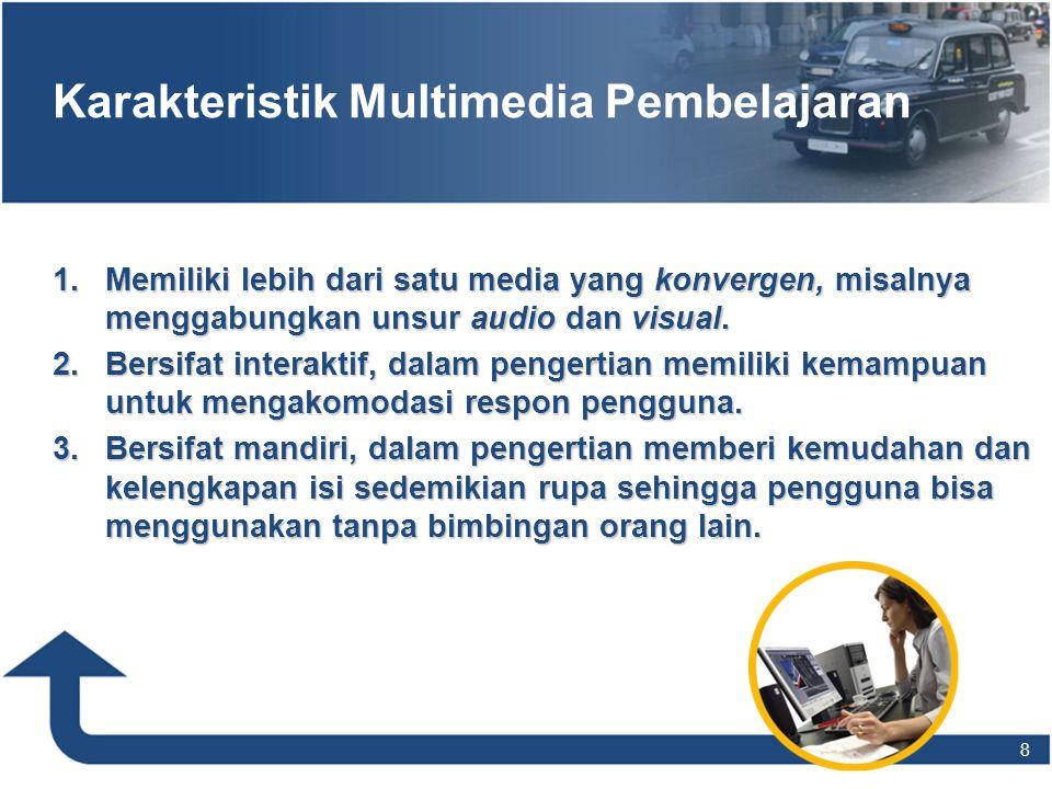 Karakteristik Multimedia Pembelajaran