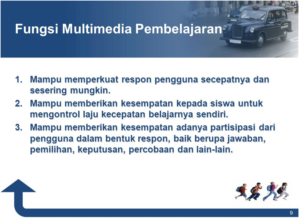 Fungsi Multimedia Pembelajaran
