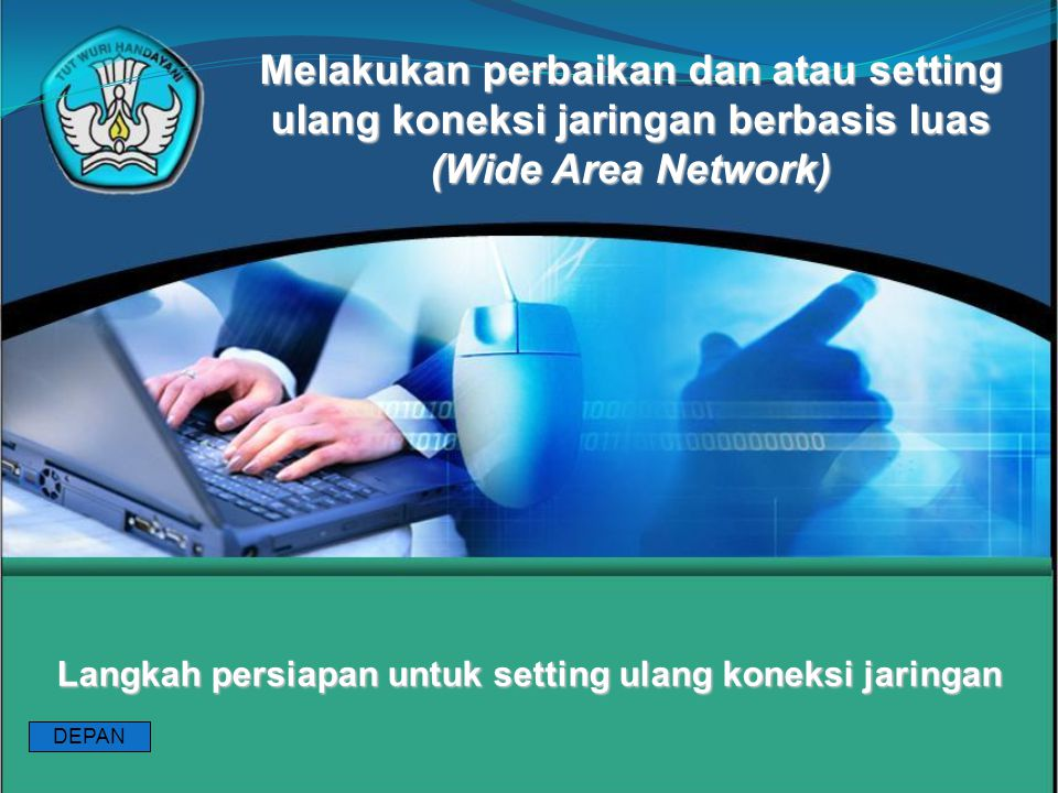 Langkah persiapan untuk setting ulang koneksi jaringan