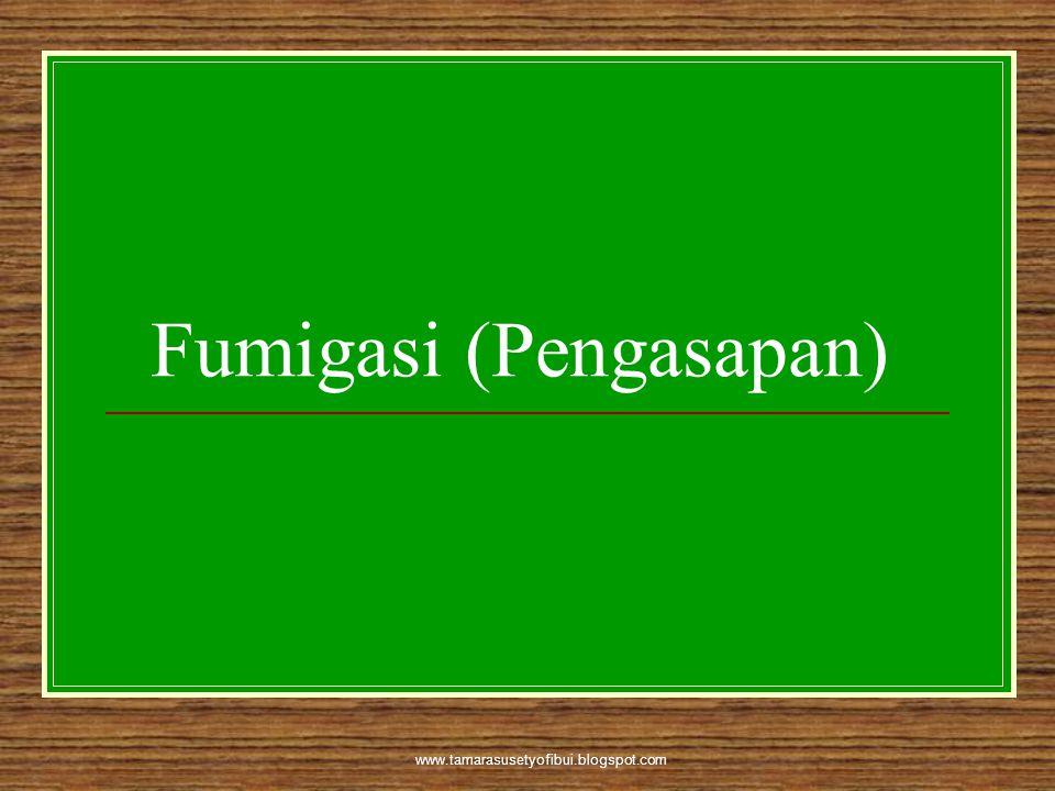 Fumigasi (Pengasapan)