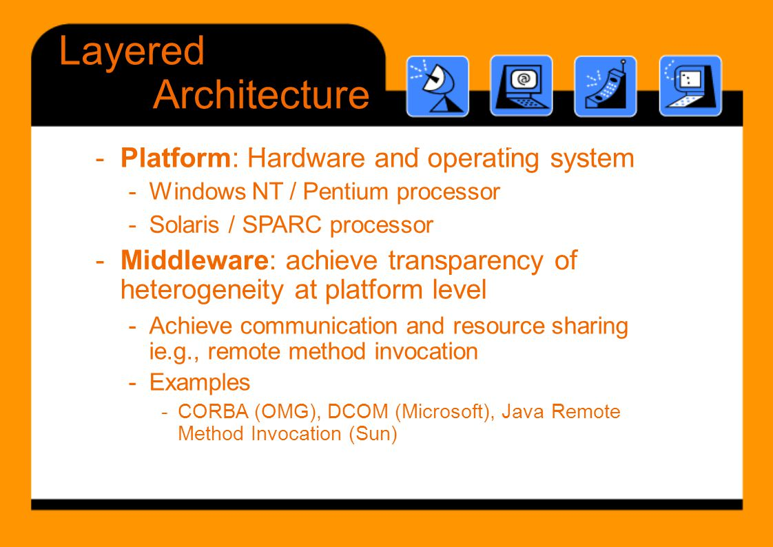 - Platform: Hardware and operating system