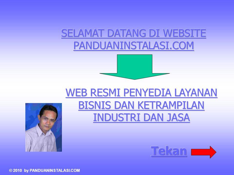 Tekan SELAMAT DATANG DI WEBSITE PANDUANINSTALASI.COM