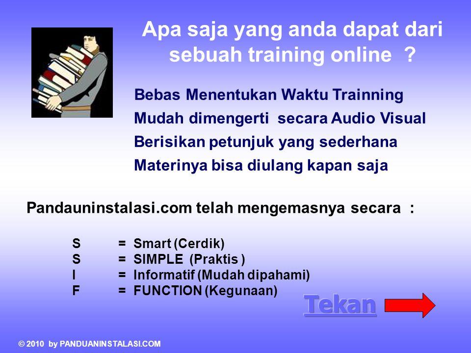 Apa saja yang anda dapat dari sebuah training online