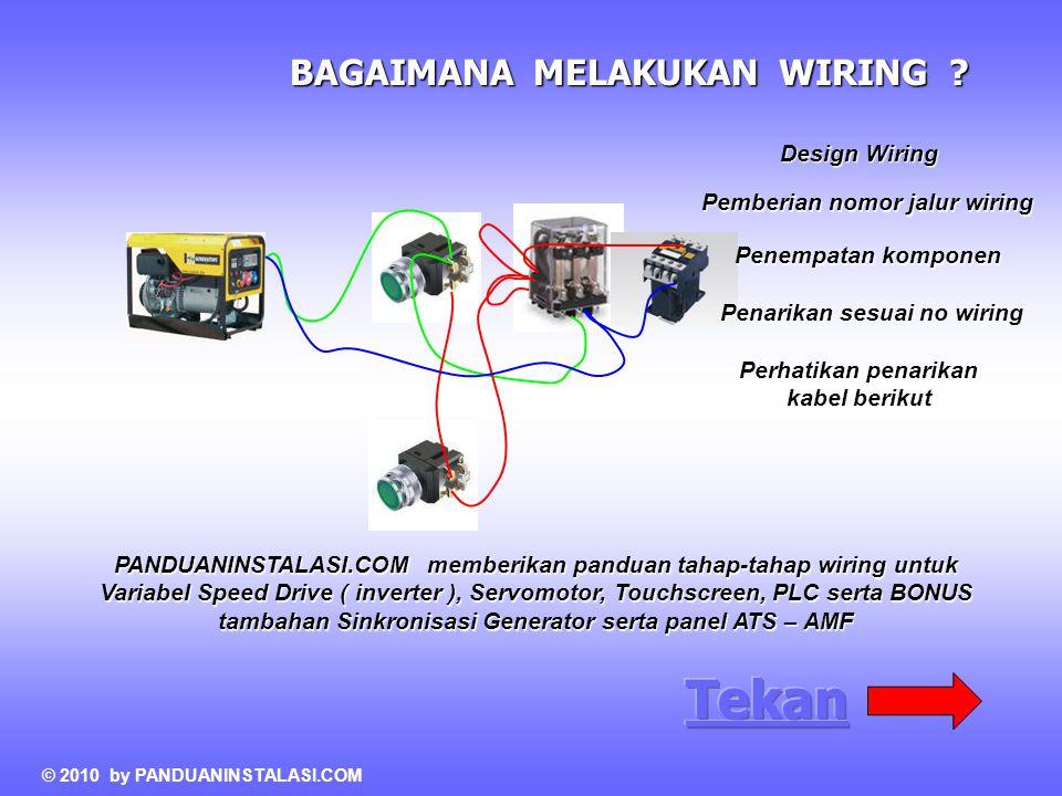 Tekan BAGAIMANA MELAKUKAN WIRING Design Wiring