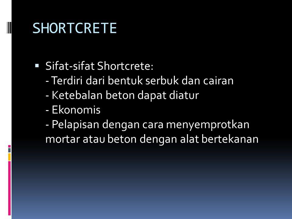SHORTCRETE