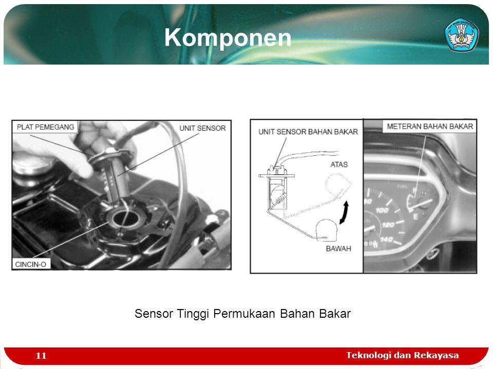 Sensor Tinggi Permukaan Bahan Bakar