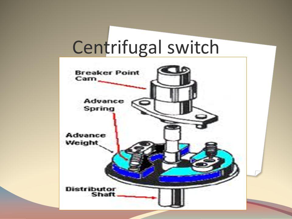 Centrifugal switch