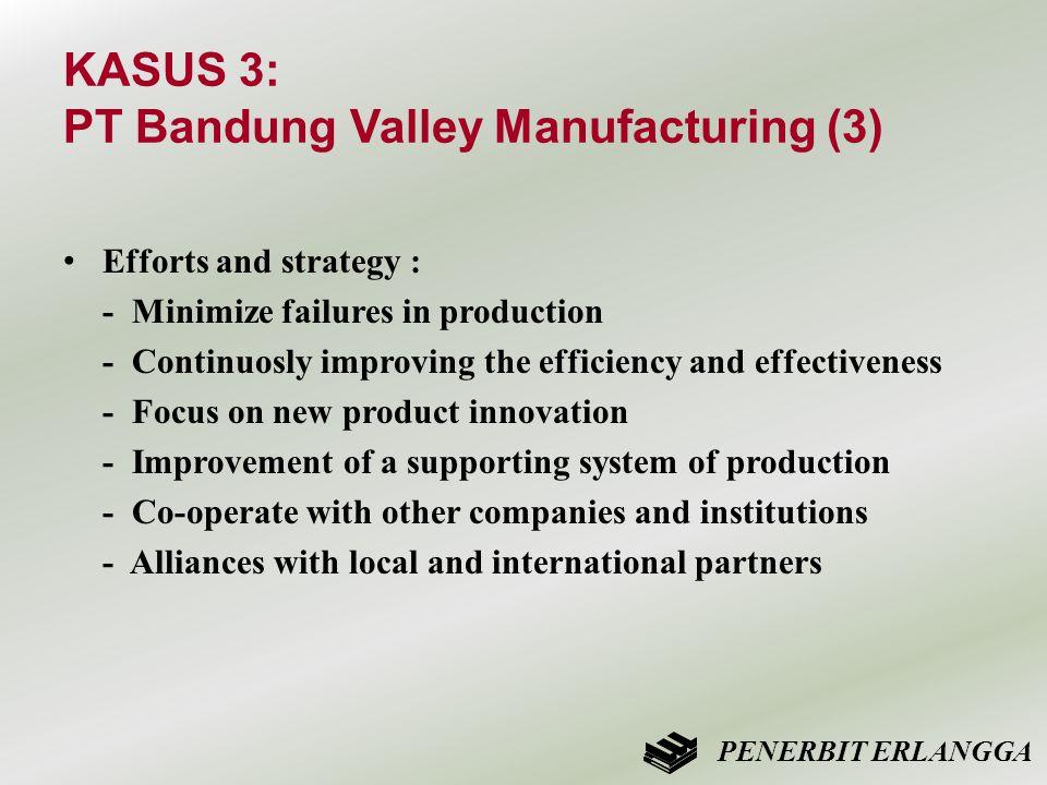 KASUS 3: PT Bandung Valley Manufacturing (3)