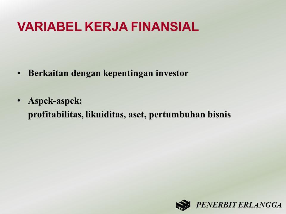 VARIABEL KERJA FINANSIAL