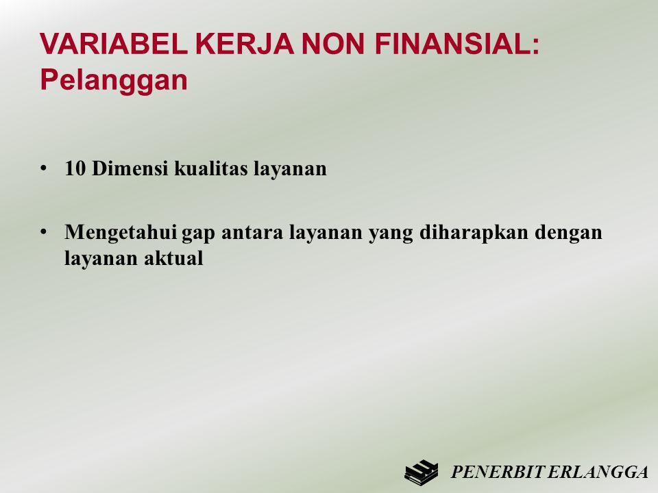 VARIABEL KERJA NON FINANSIAL: Pelanggan