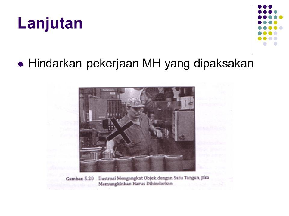 Lanjutan Hindarkan pekerjaan MH yang dipaksakan