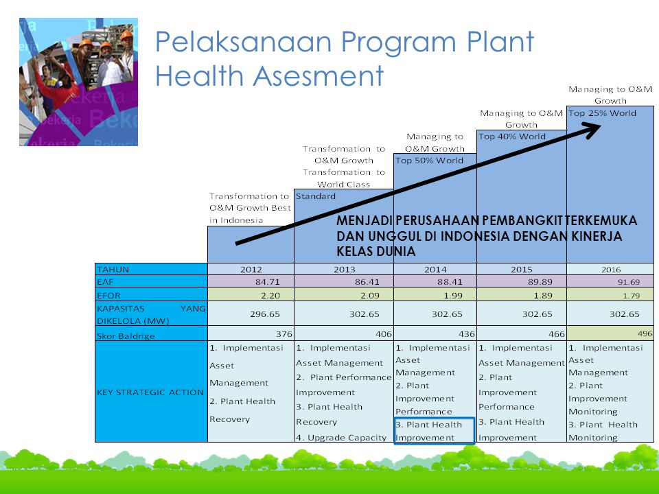 Pelaksanaan Program Plant Health Asesment