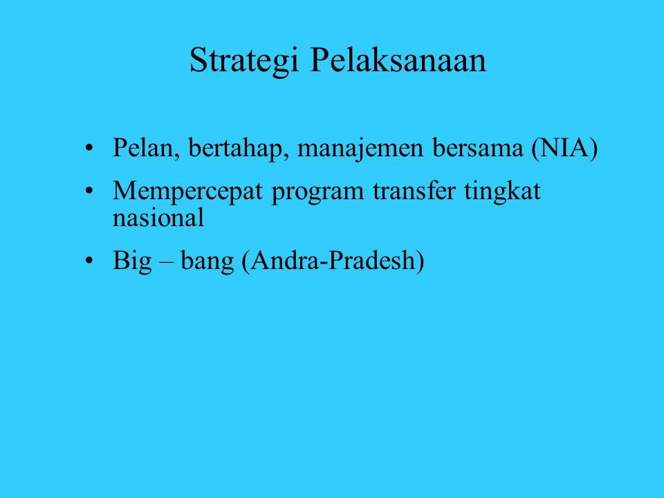 Strategi Pelaksanaan Pelan, bertahap, manajemen bersama (NIA)