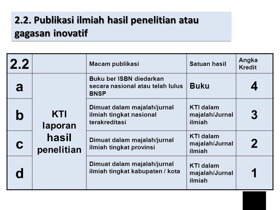 KTI laporan hasil penelitian