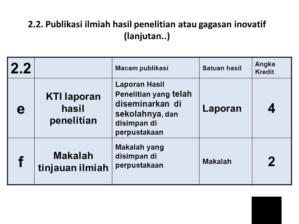 KTI laporan hasil penelitian Makalah tinjauan ilmiah