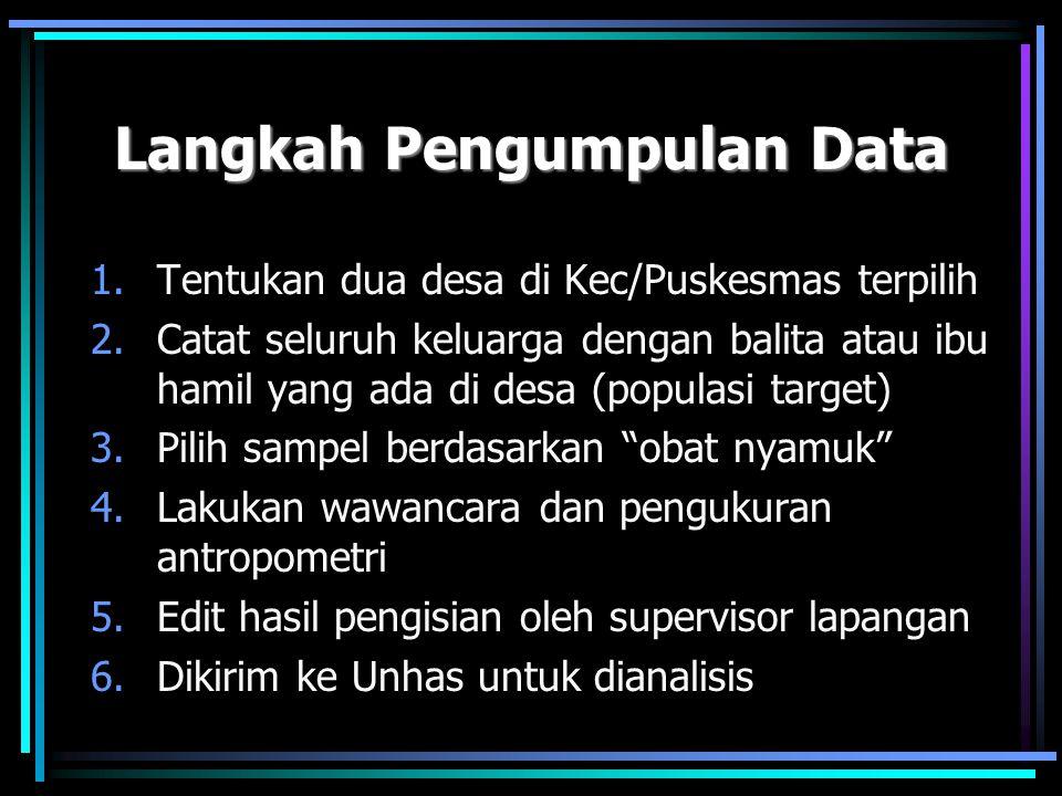 Langkah Pengumpulan Data