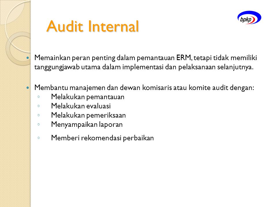 Audit Internal