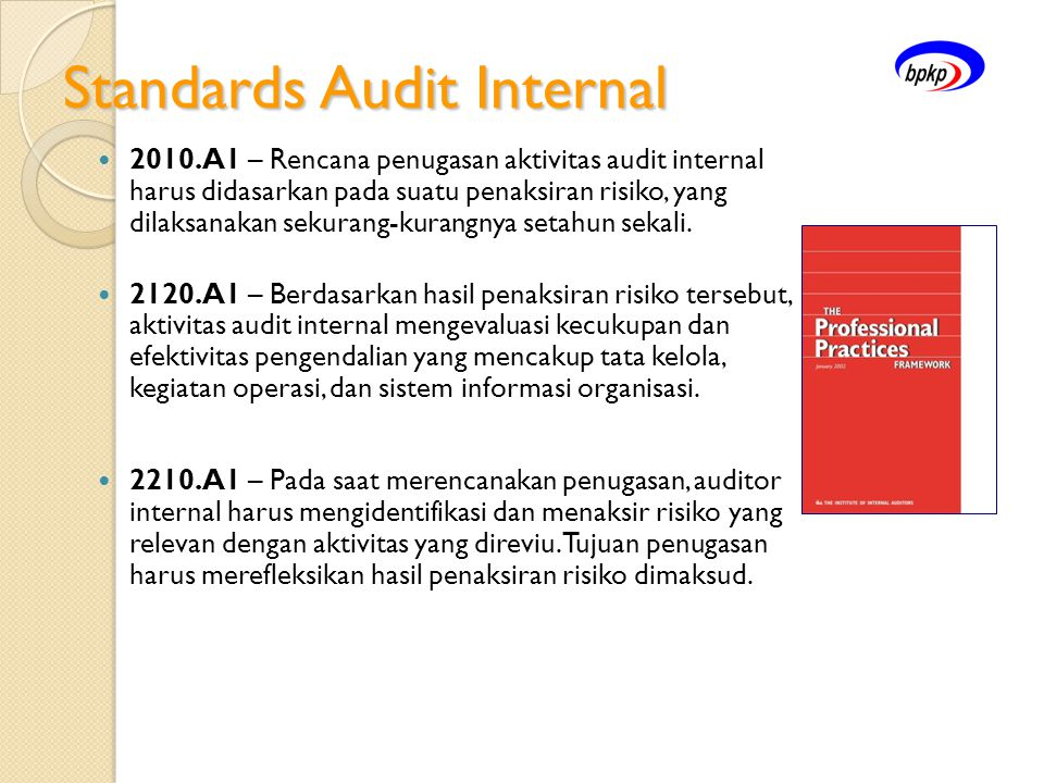 Standards Audit Internal