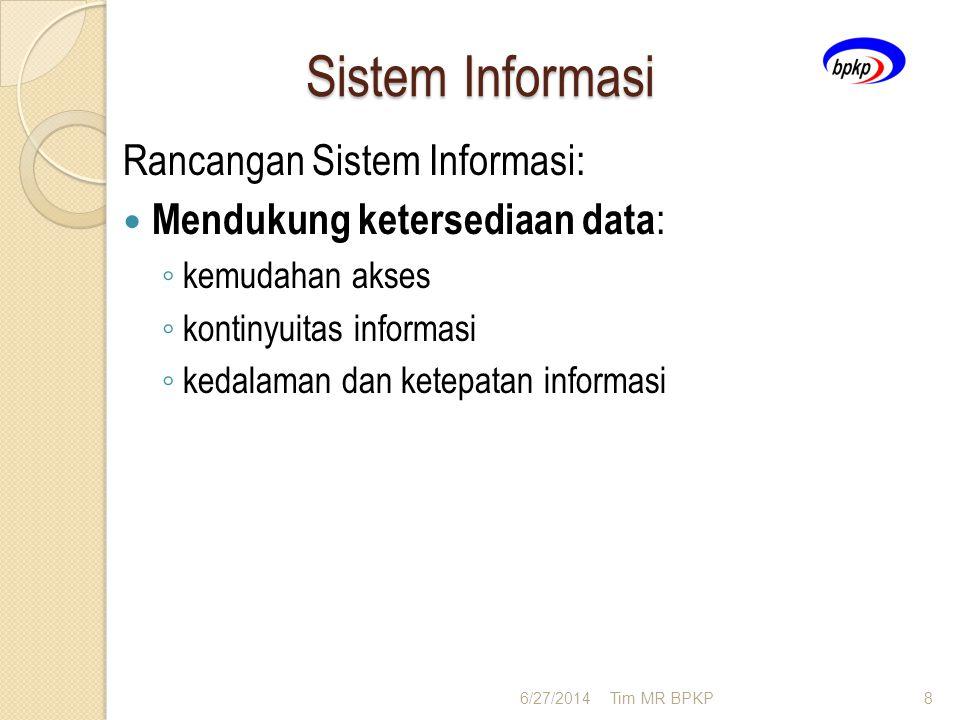 Sistem Informasi Rancangan Sistem Informasi: