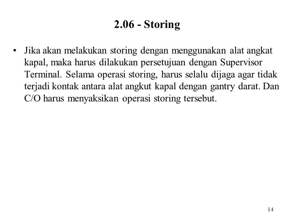 2.06 - Storing