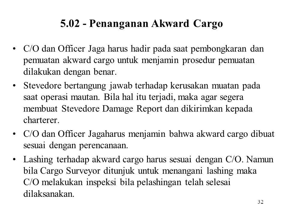 5.02 - Penanganan Akward Cargo