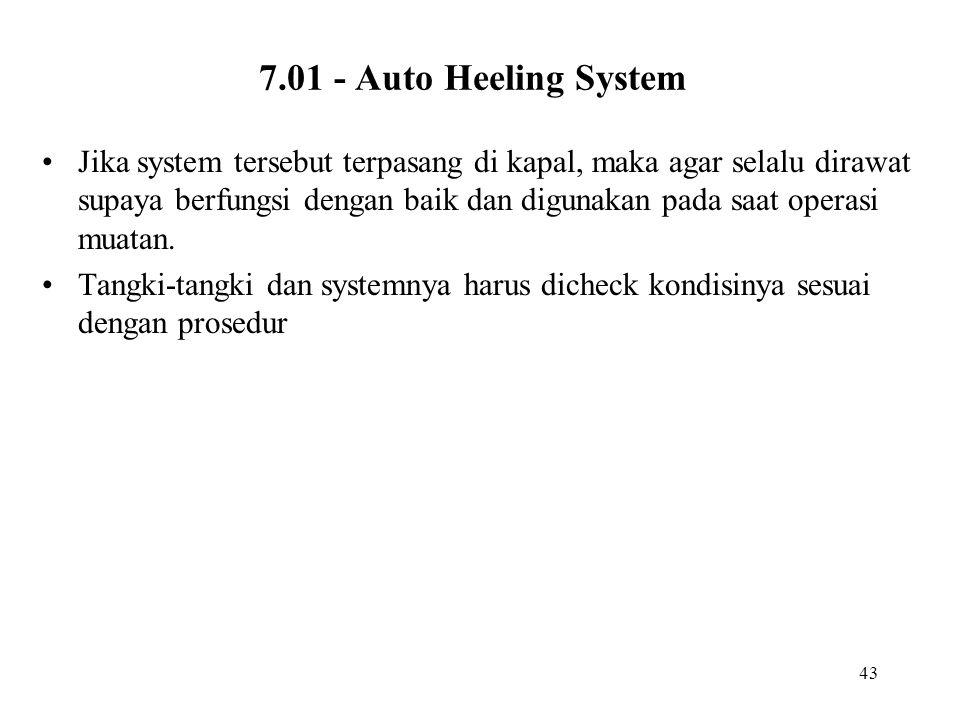 7.01 - Auto Heeling System