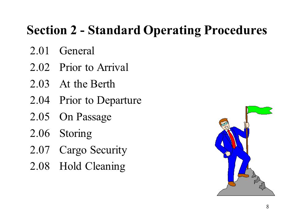 Section 2 - Standard Operating Procedures