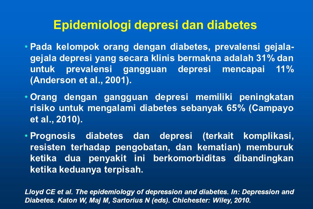 Epidemiologi depresi dan diabetes