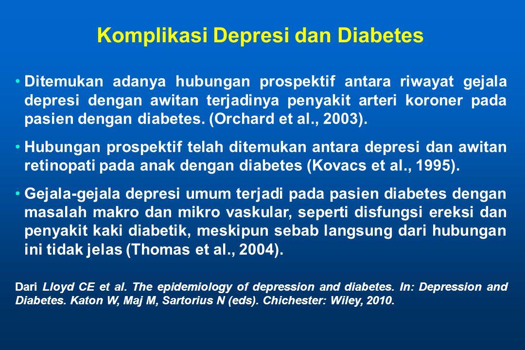 Komplikasi Depresi dan Diabetes
