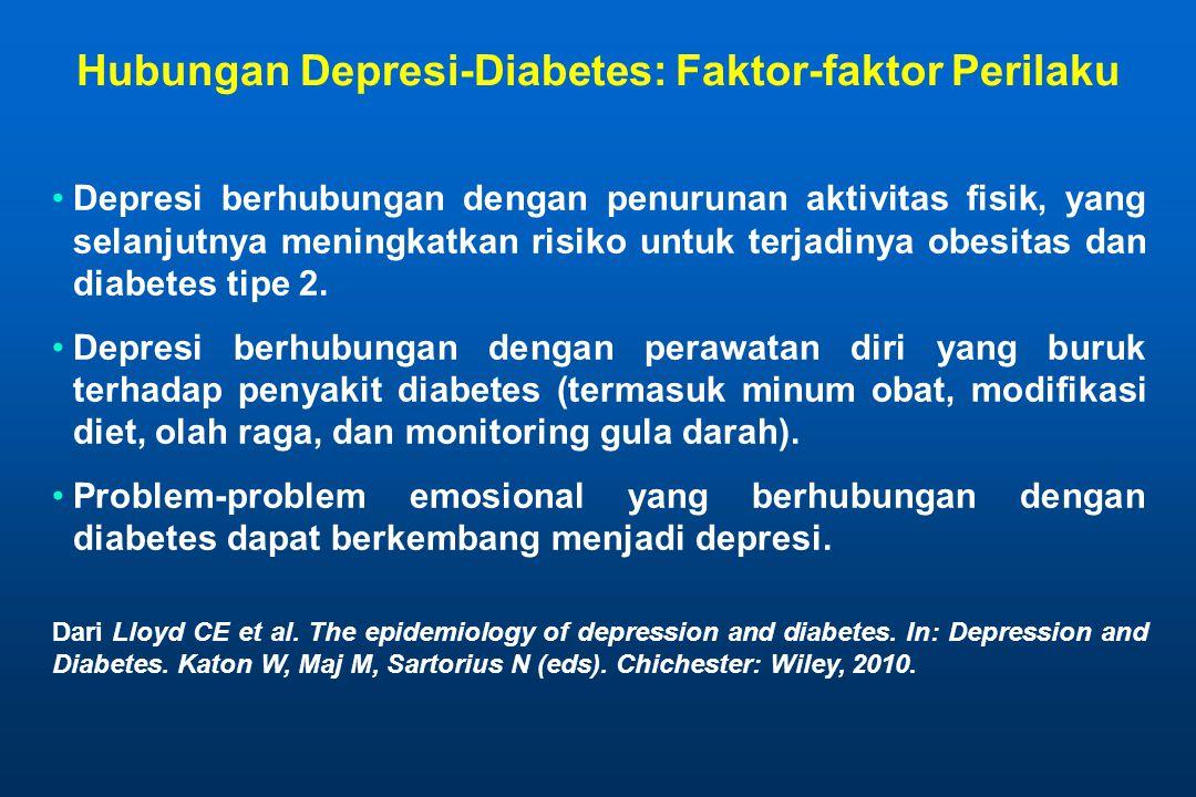 Hubungan Depresi-Diabetes: Faktor-faktor Perilaku
