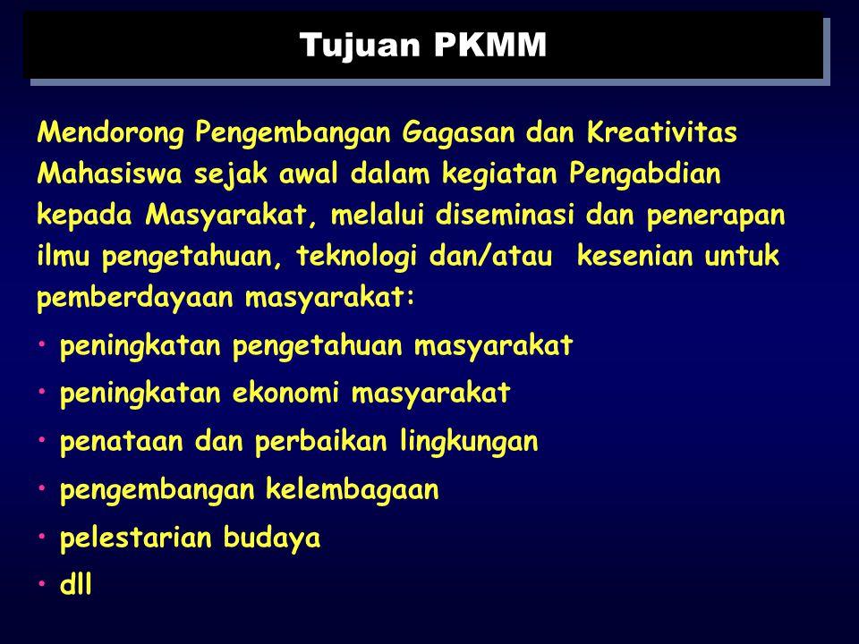 Tujuan PKMM