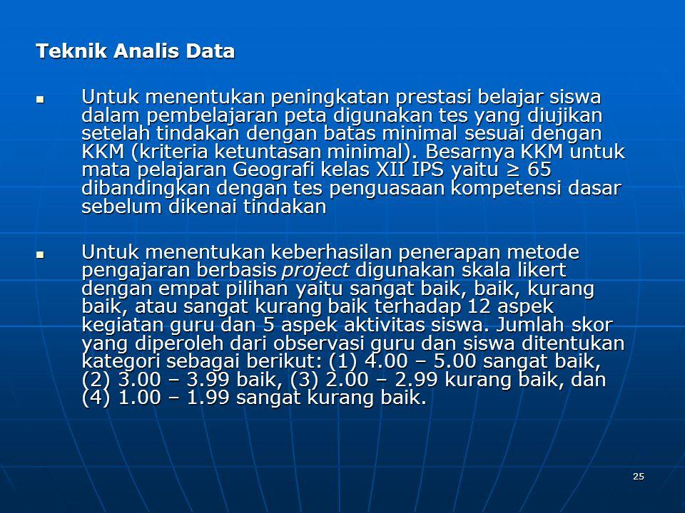 Teknik Analis Data