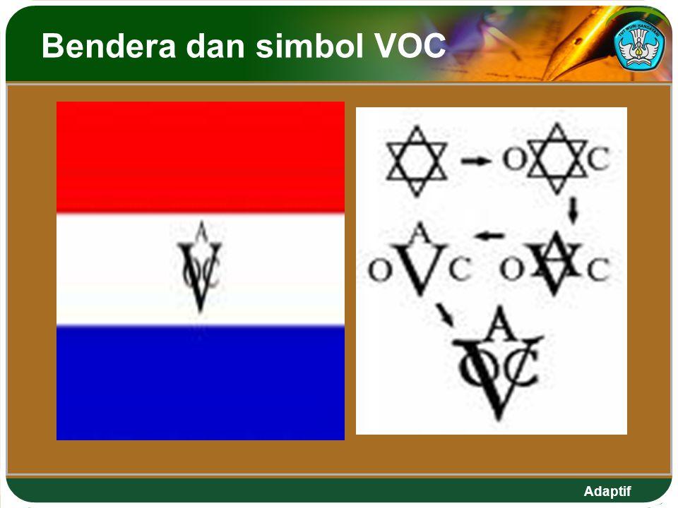 Bendera dan simbol VOC